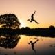 A leap of faith or a planned jump?